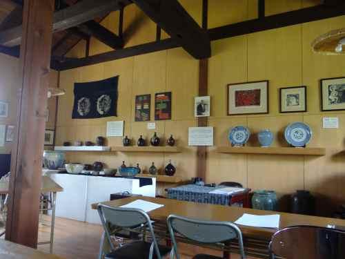 Inside Tatsue Folk Hall